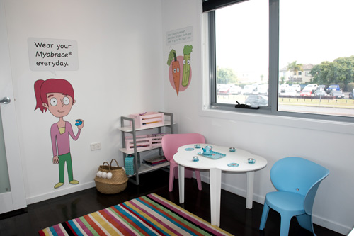 Child friendly room